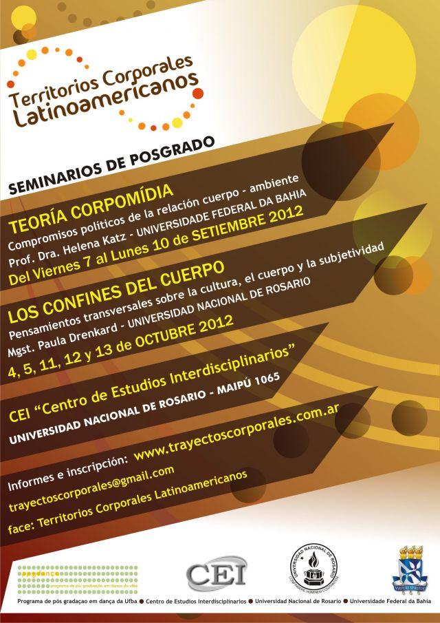 Seminarios de posgrado: territorios corporales latinoamericanos