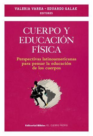 Tapa libro cuerpo y educación física