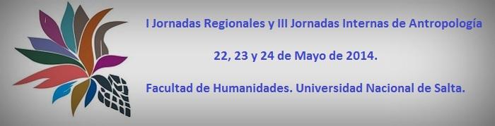 Jornadas regionales, Universidad Nacional de Slata, mayo 2014