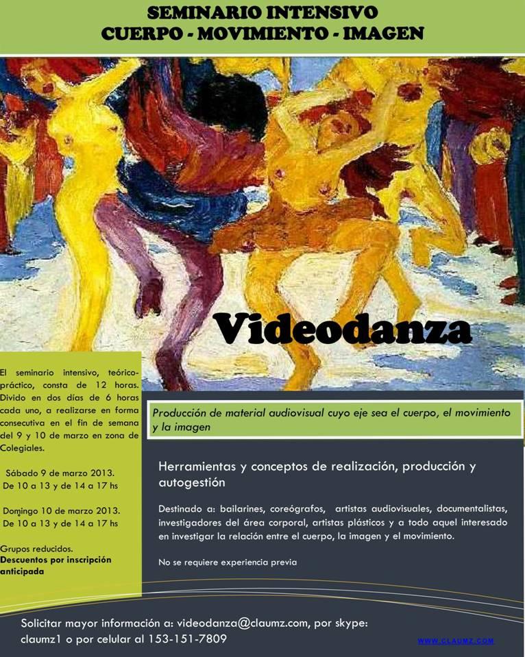 Seminario de Videodanza